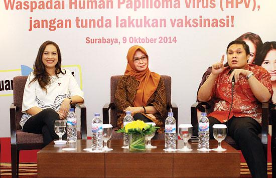 10 Pasien Baru Kanker Serviks setiap hari tercatat di Surabaya 1