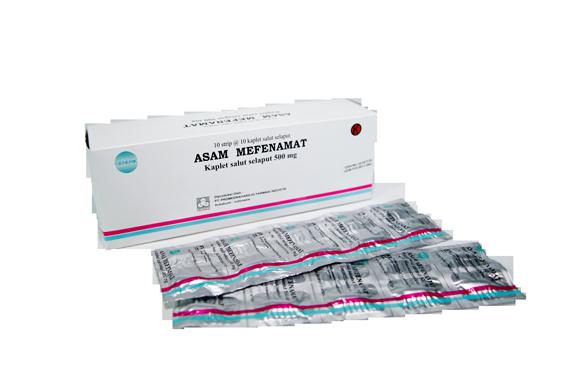 Asam mefenamat: Pengertian, Indikasi, dosis, Kontraindikasi, dan Efek samping