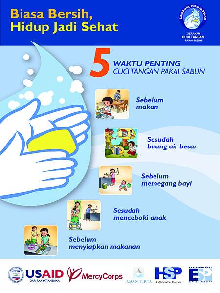 Waktu penting mencuci tangan