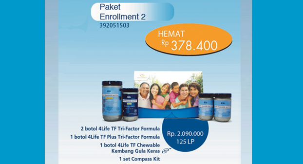Paket Enrollment 2 4Life Transfer Factor
