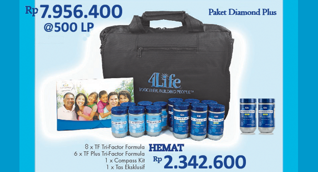 Paket Fast Start Plus 4Life Transfer Factor