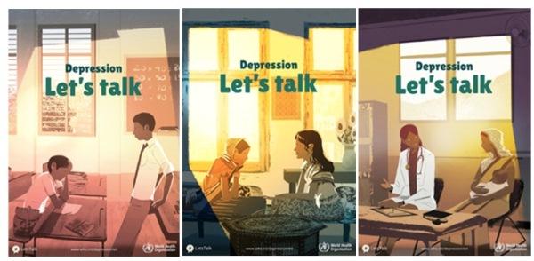 Poster Kampanye Hari Kesehatan Jiwa 2017