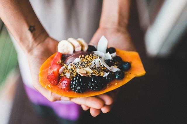 Cara Alami Mengobati Batuk Berdarah - Mengonsumsi makanan sehat