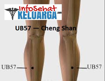 Titik Pijat Refleksi Untuk Wasir - UB57 — Cheng Shan